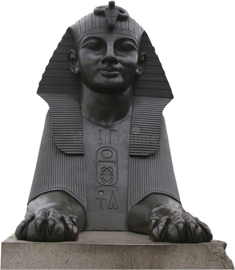 Egyptische sphynx stock foto's