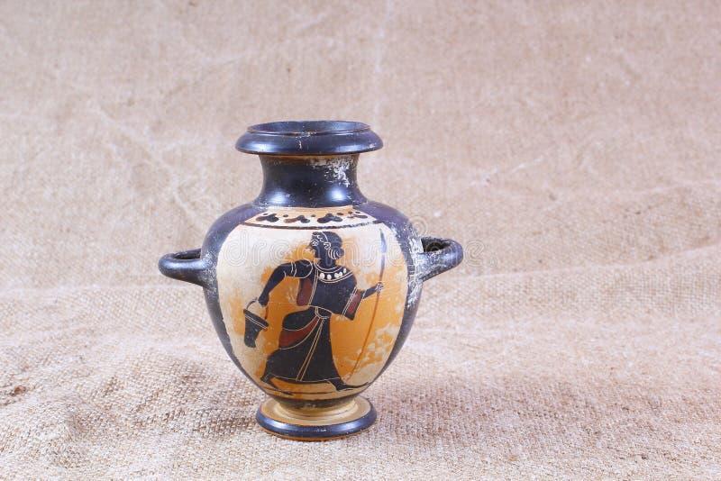 Egyptische vaas royalty-vrije stock afbeelding