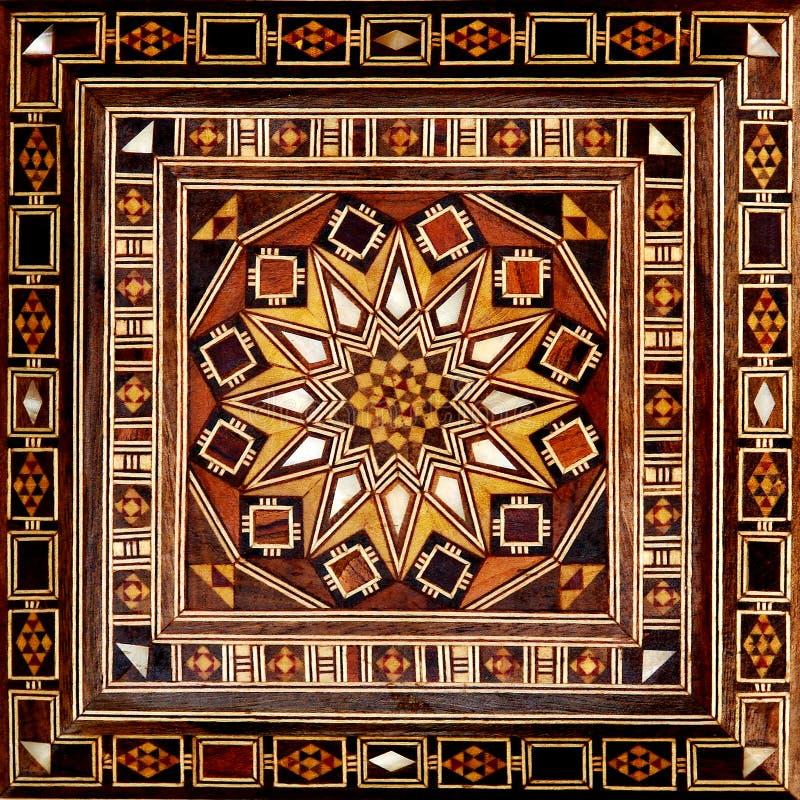 egyptisk modell arkivbild