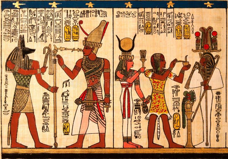 egyptisk papyrus