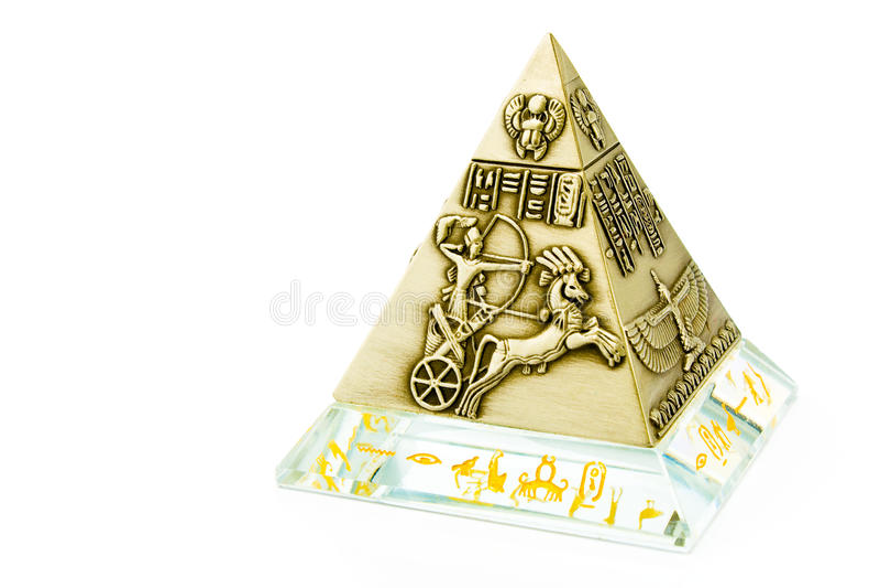 egyptisk pyramid royaltyfria bilder