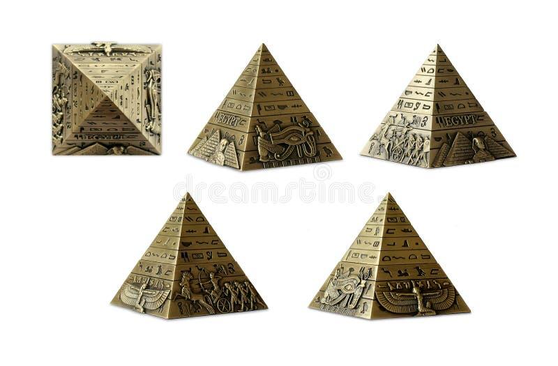 egyptisk pyramid royaltyfri foto
