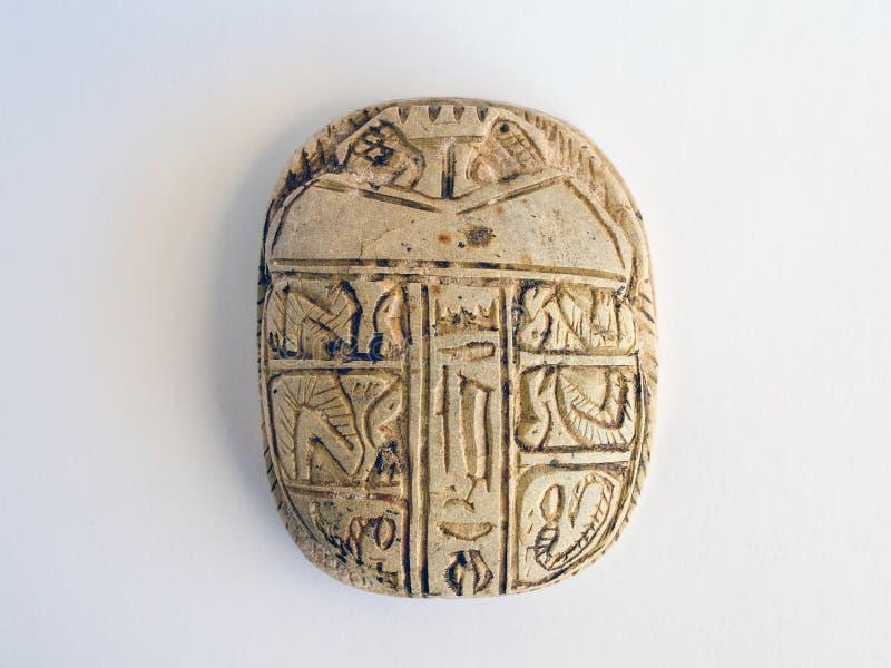 egyptisk scarab royaltyfri fotografi
