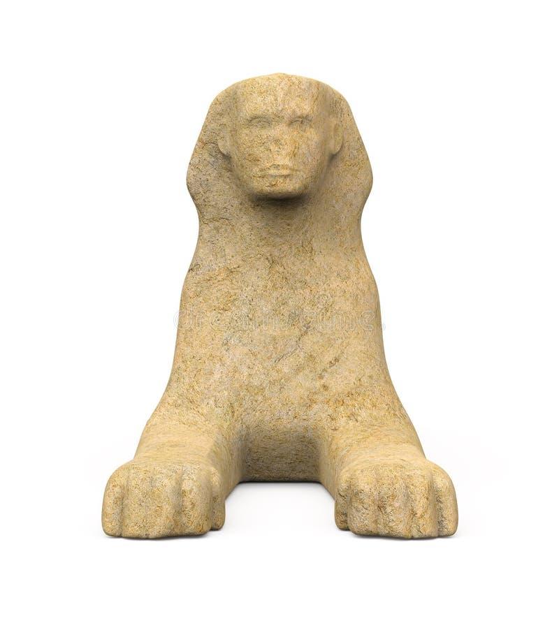 Egyptisk sfinxstaty royaltyfri bild