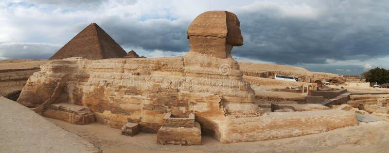 egyptisk sphinx royaltyfria foton
