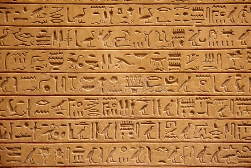 Egyptiska hieroglyphics