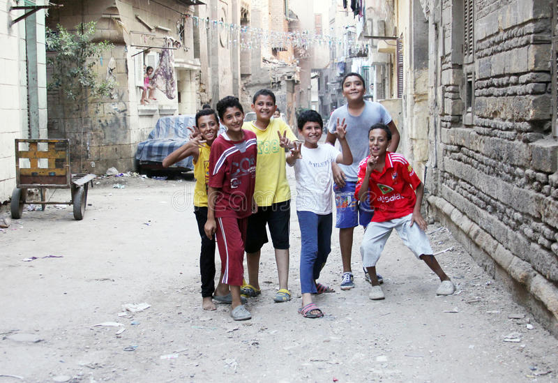 Egyptiskt fira för barn fotografering för bildbyråer