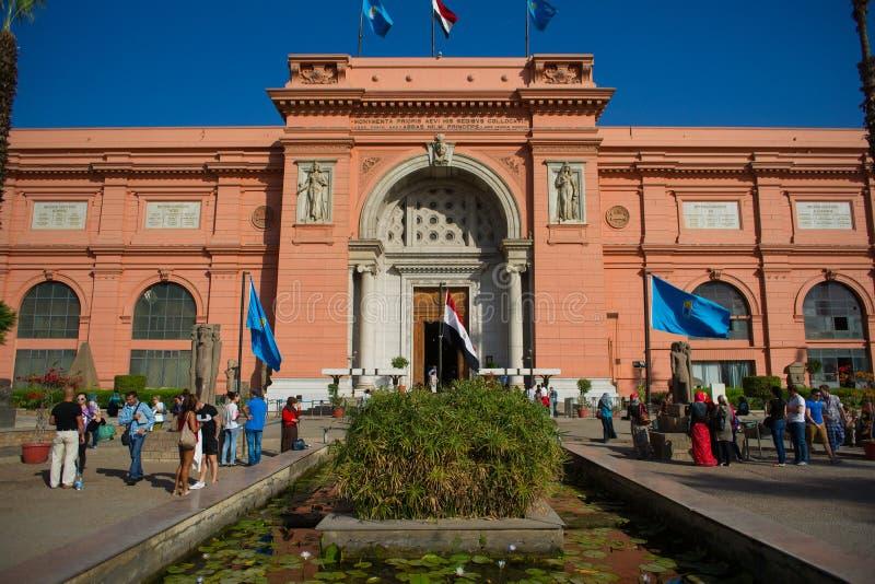 egyptiskt museum arkivfoton