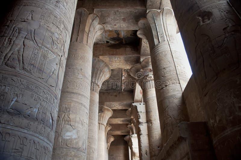 egyptiskt tempel royaltyfria foton