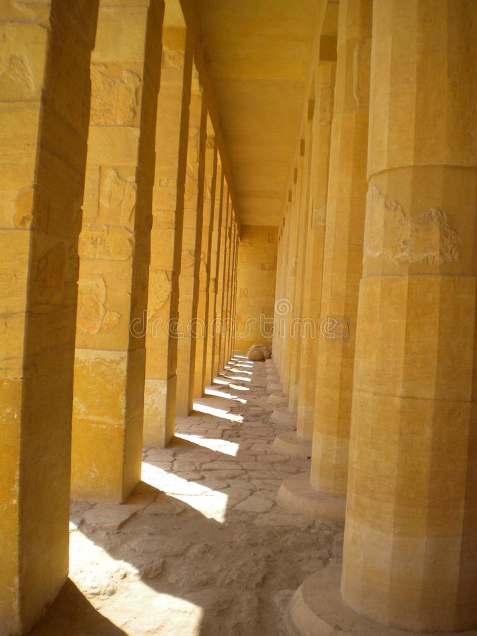 egyptiskt tempel royaltyfria foton