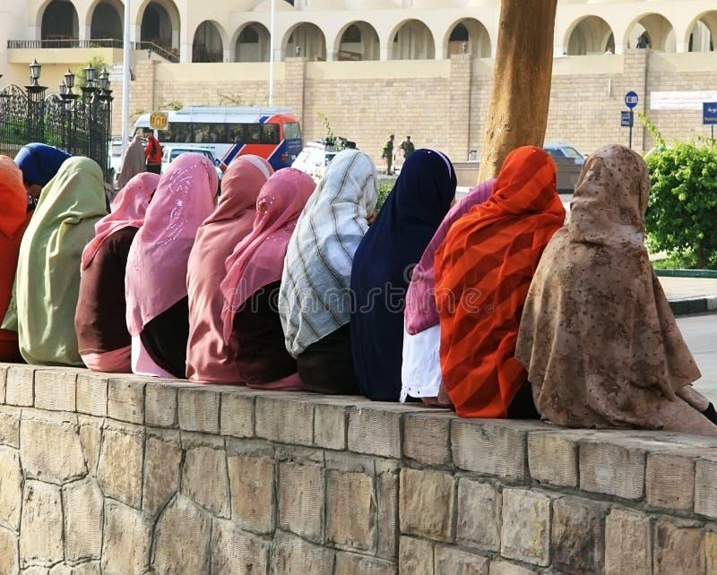 Egytian-Mädchen stockbilder