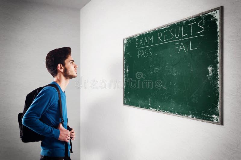 Egzaminów rezultaty obraz stock