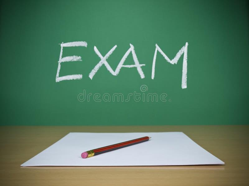 egzamin zdjęcie royalty free