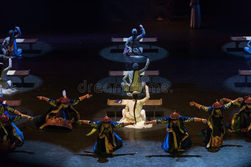 Egzamin przy cesarza pałac 9-Act 1: Tam są inni bu2 obraz royalty free