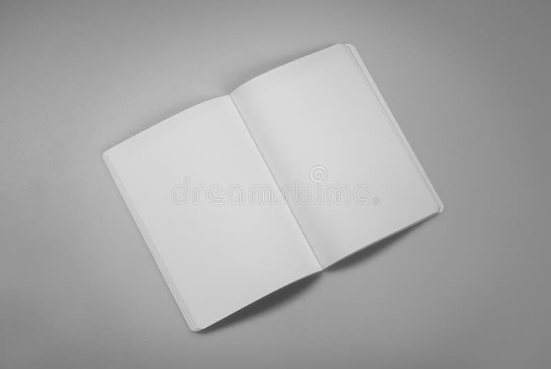 Egzaminu próbnego magazyny, książka lub katalog na szarość, zgłaszają tło obrazy stock