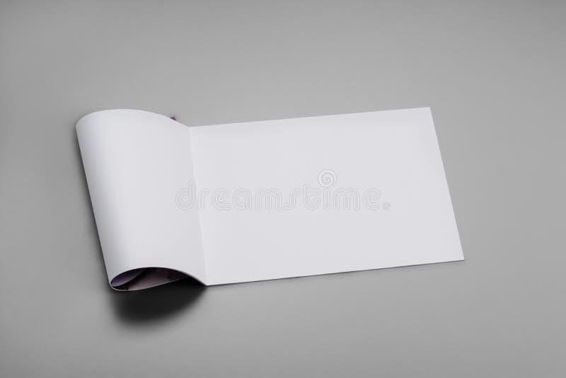 Egzaminu próbnego magazyny, książka lub katalog na szarość, zgłaszają tło fotografia royalty free