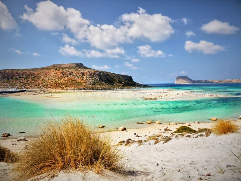 Egzot plaża, Crete wyspa obrazy royalty free