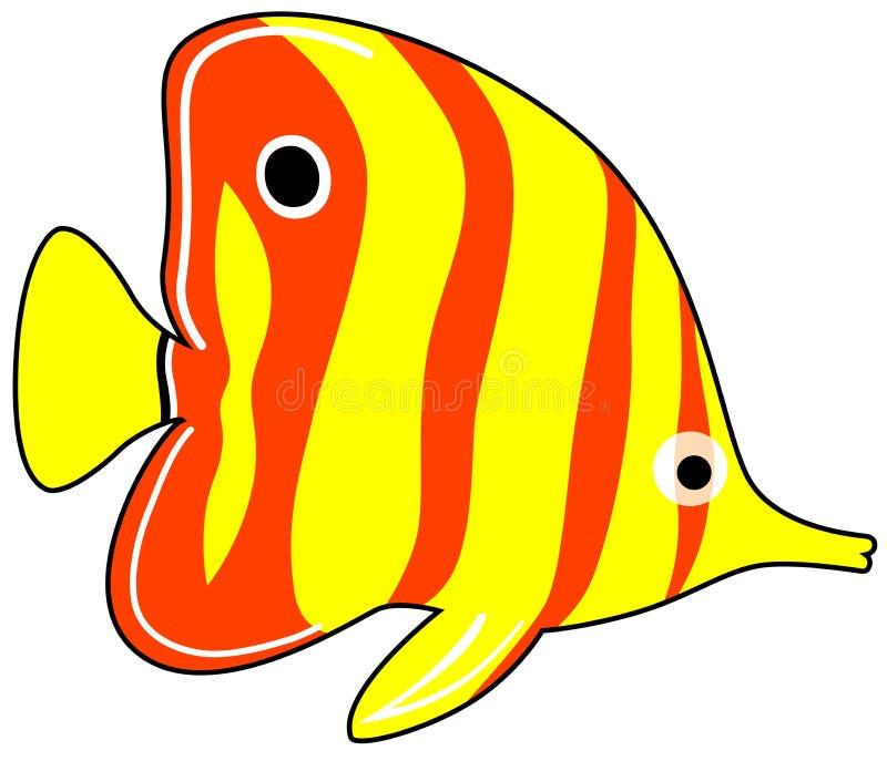 Egzot ryba royalty ilustracja