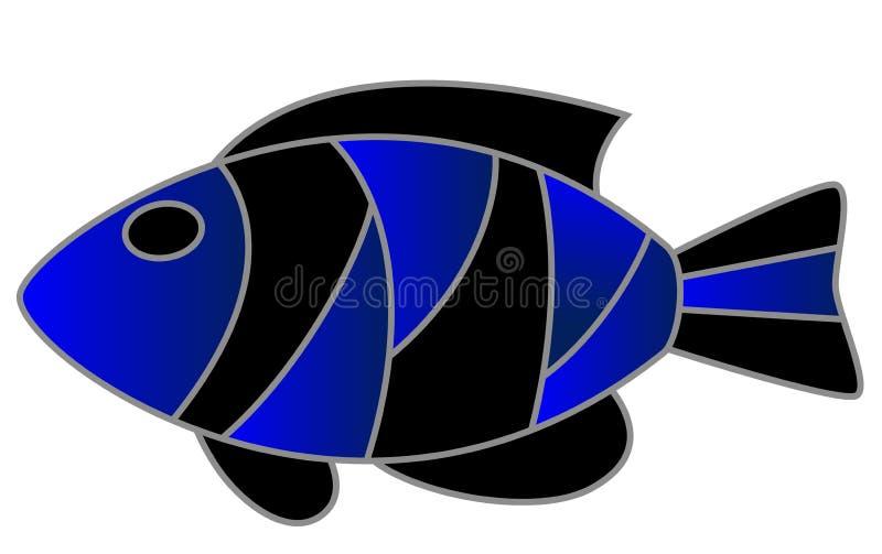 egzot ryba ilustracja wektor