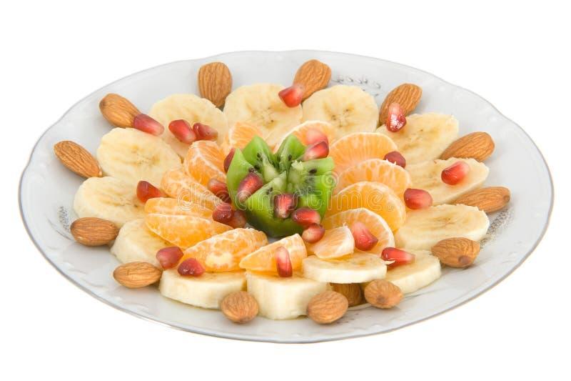 egzotyczne sałatka owocowa obraz stock