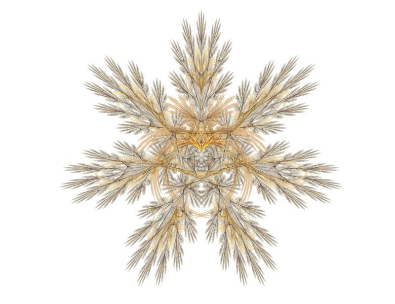 egzotyczne serce abstrakcyjne royalty ilustracja