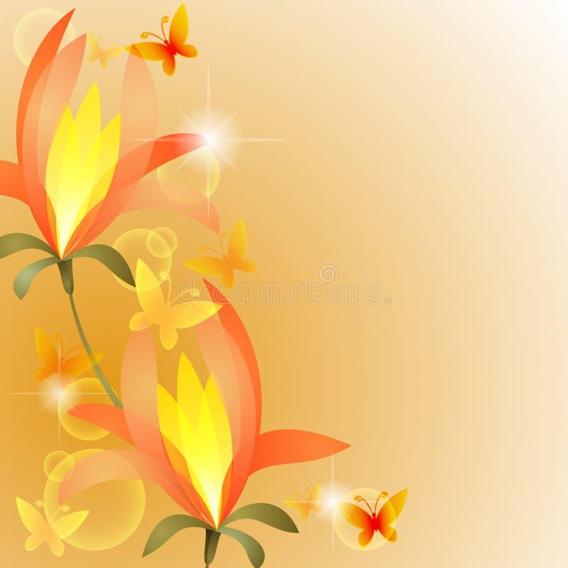 egzotyczny kwiat ilustracji