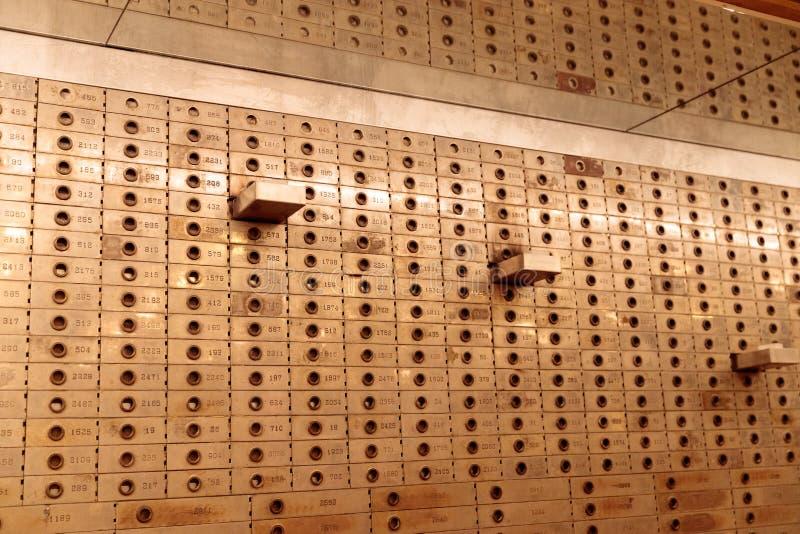 Ehemalige Bank im New- Yorkerhotel, Manhattan lizenzfreie stockbilder
