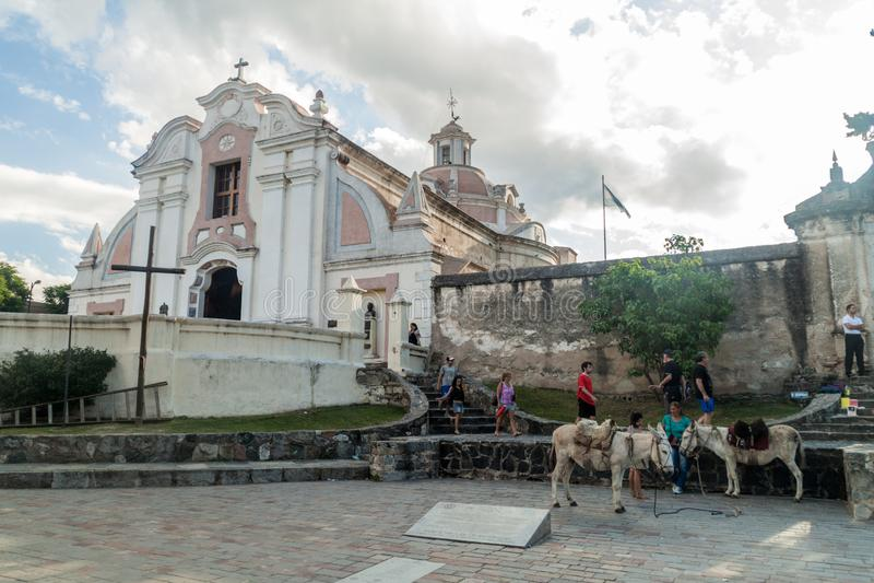 Ehemaliger Jesuitauftrag in Alta Gracia stockfotos