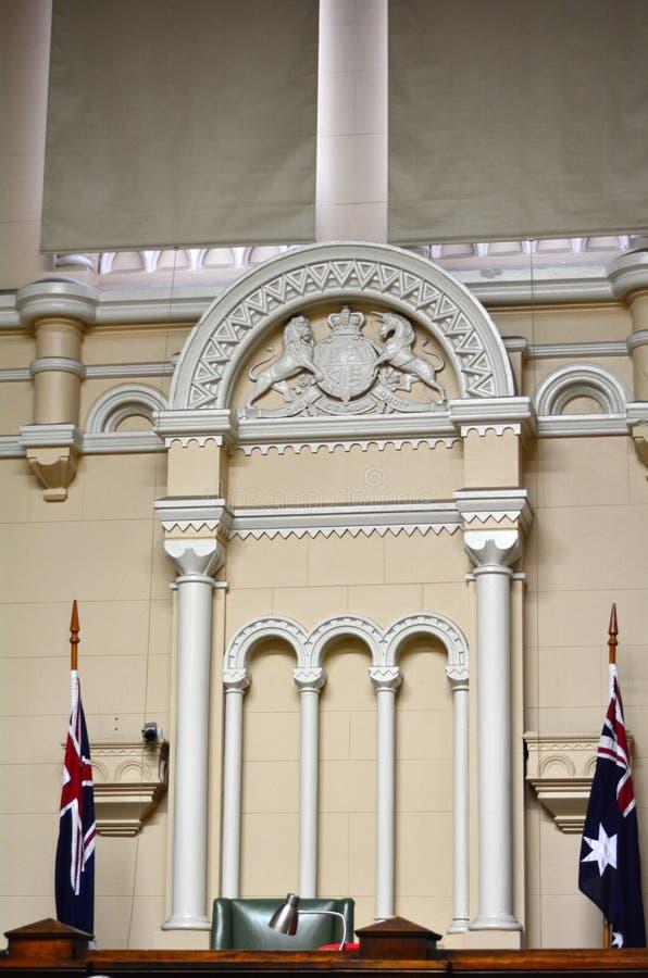 Ehemaliges Melbourne-Amtsgericht stockfotos