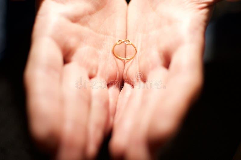 Ehering der everlastning Liebe lizenzfreies stockbild