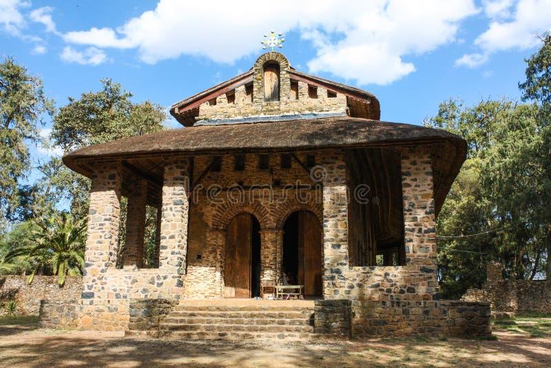 Ehiopian kyrka arkivfoton