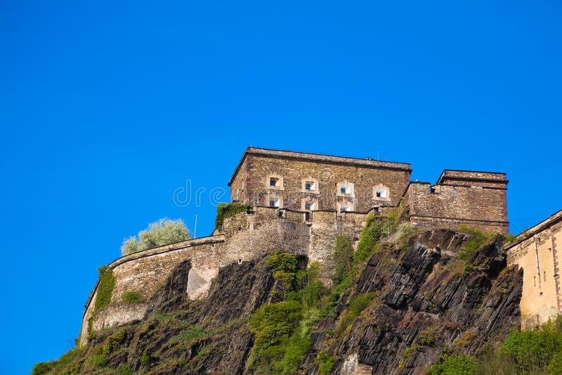 Ehrenbreitstein Fortress royalty free stock photo