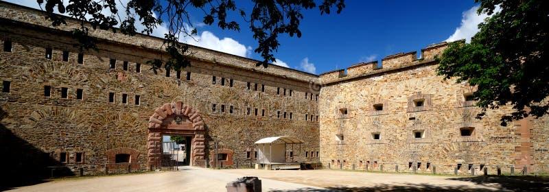 Ehrenbreitstein fortyfikacja obrazy royalty free