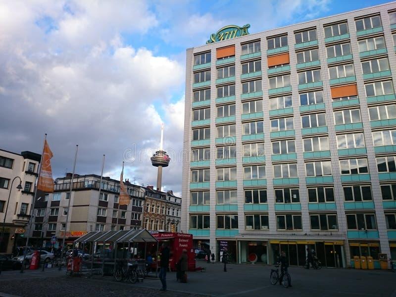 Ehrenfeld in Köln zur Tageszeit lizenzfreie stockfotos