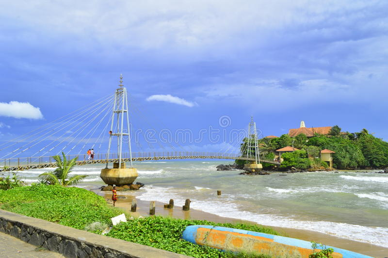 Ehrfürchtige Landschaft in Sri Lanka stockfotos