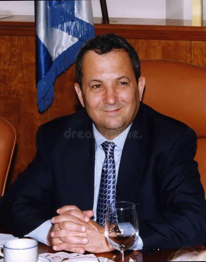 Ehud Barak royalty-vrije stock fotografie