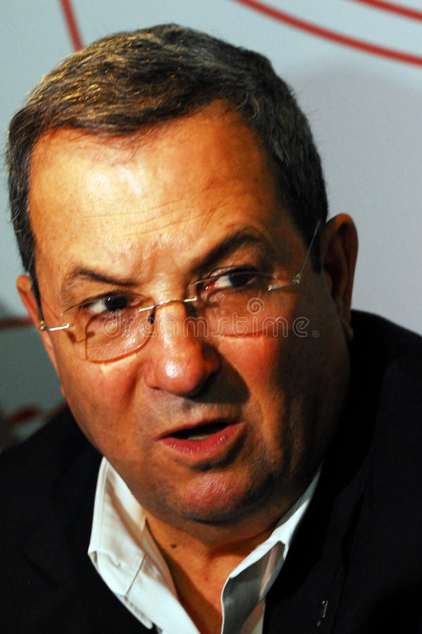 Ehud Barak fotos de stock royalty free