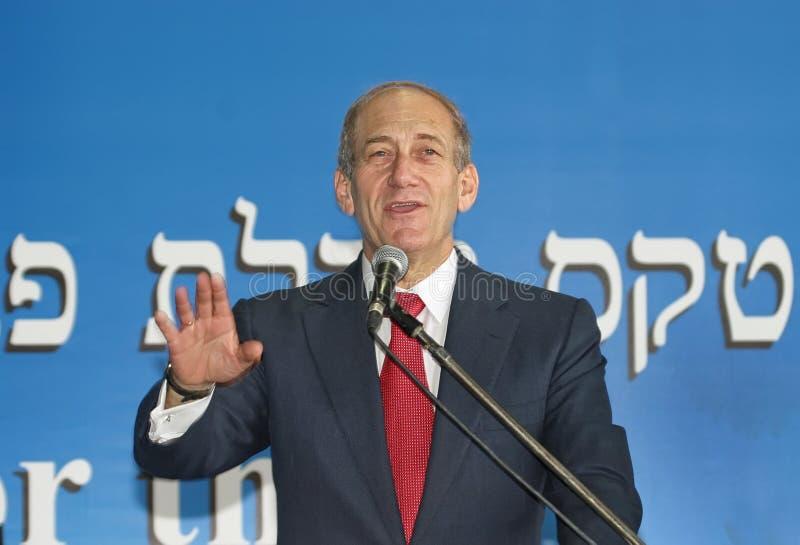 Ehud Olmert zdjęcia stock