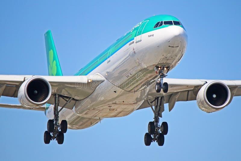 EI-ELA : Aer Lingus Airbus A330-300 photo stock