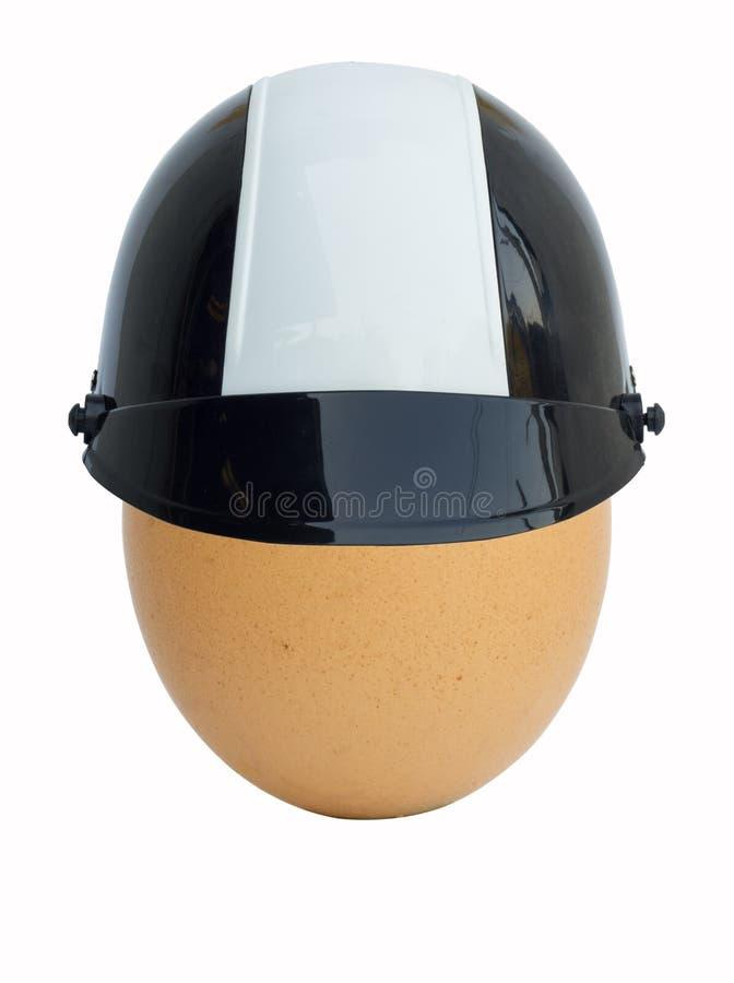 Download Ei in helm stock afbeelding. Afbeelding bestaande uit toevallig - 39116855