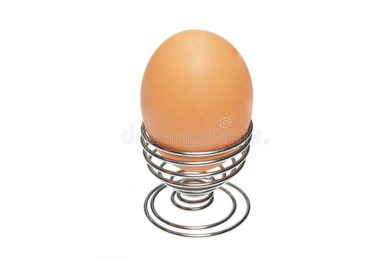 Ei im Eierbecher stockfoto