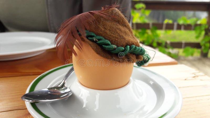 Ei voor ontbijt royalty-vrije stock afbeelding