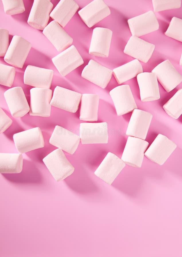 Eibischbonbon-Musterbeschaffenheit der Süßigkeit rosafarbene stockfoto