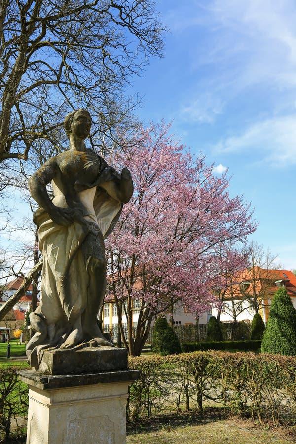 Eichstättis una città in Baviera, Germania immagini stock