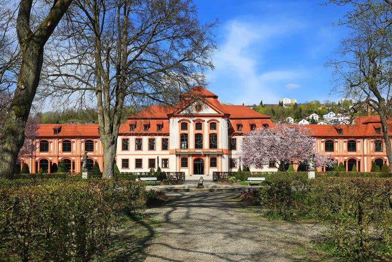 Eichstättis una città in Baviera, Germania fotografie stock