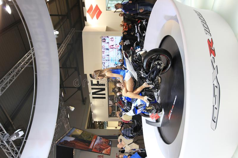 Eicma 2011, International Motorcycle Exhibition Editorial Stock Photo