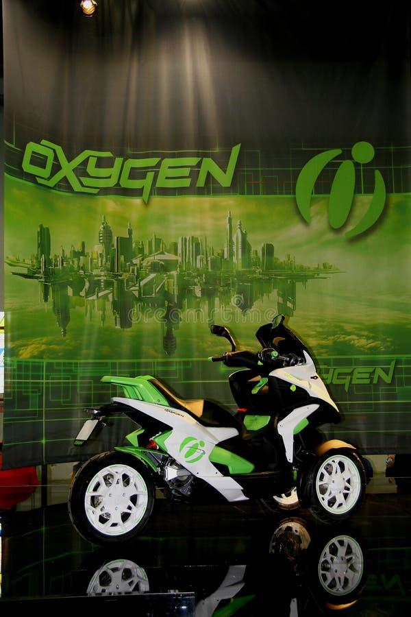 EICMA 2014. EICMA - 72 ° Motorcycling Worlds Fair - Milan 6-9 November 2014. Quadro Oxjgen stock image