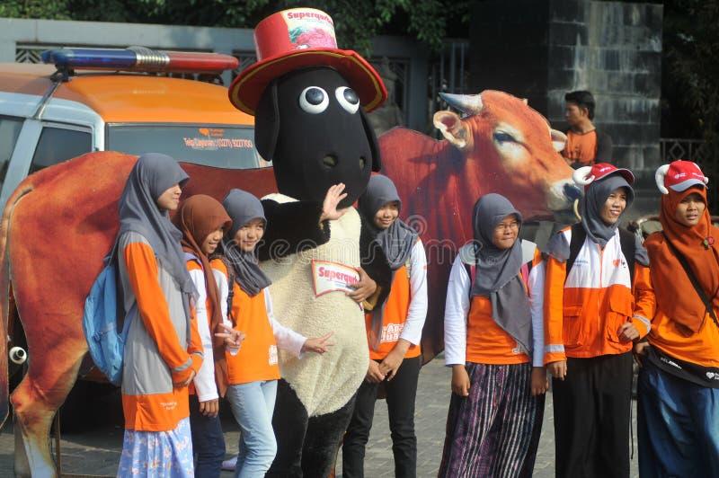 Eid Al Adha在印度尼西亚 库存图片