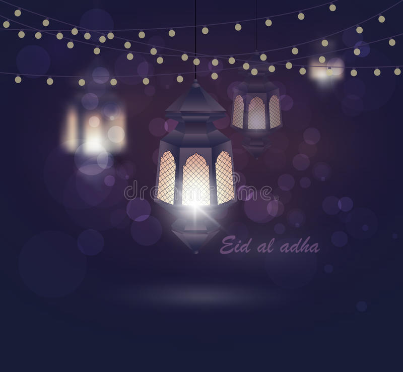 Most Inspiring Eid Holiday Eid Al-Fitr Greeting - eid-al-adha-greeting-card-template-eid-al-fitr-muslim-religious-holiday-lanterns-blurred-lights-background-mosque-87829328  Trends_978279 .jpg