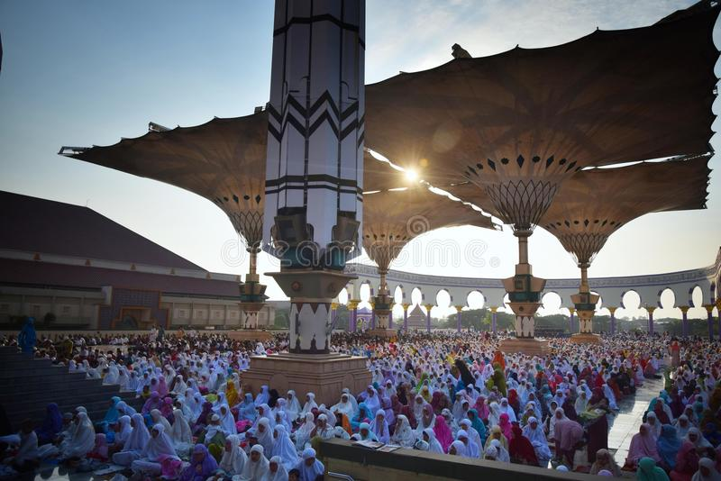 Eid Al-Adha Prayer fotos de stock